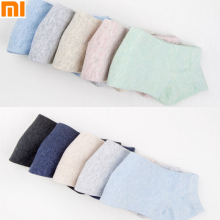5pcs/set Authentic Xiaomi 365WEAR Antibacterial Socks for Man and Girls Snug Breathable Socks Boat Sock
