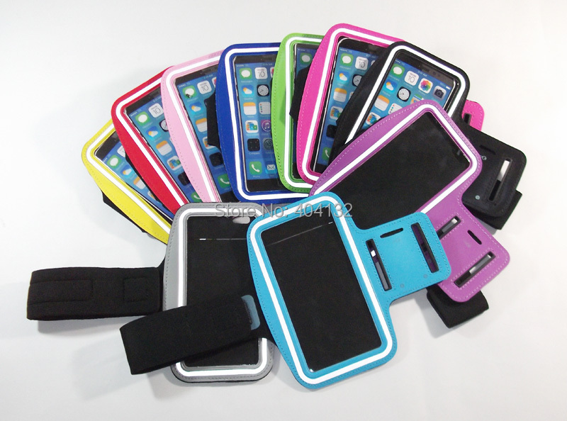 100pcs/lot Good Quality Armbands Gym Bag For Iphone 6 Plus Sports Case Arm Band And Other Phone By Dhl Sherrytree Quality First Armbands
