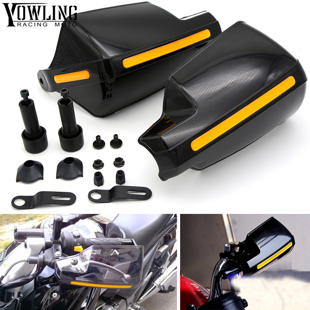 Motorcycle wind shield Brake lever hand guard For Yamaha XJ6/DIVERSION XJR 1300/Racer XSR 700 900/ABS with Hollow Handle bar