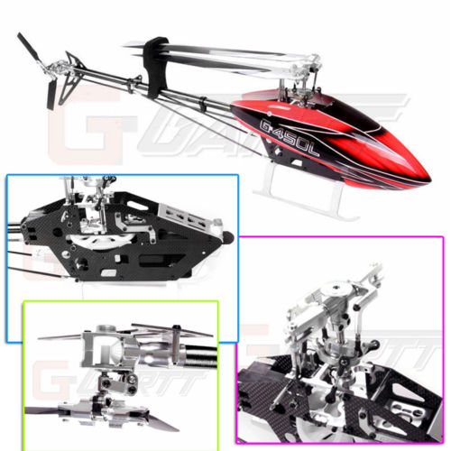Gartt 450L Torque Tube 3D 6CH Carbon Fiber Frame for Trex 450 L Helicopter gartt hf450l 1800kv brushless motor for trex 450l 480 helicopter