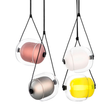 купить Nordic Post modern Creative living room pendant lights Music Restaurant cafe bar bedroom droplight LED colorful lighting fixture по цене 9858.91 рублей