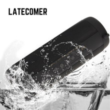 Latecomer T2 HIFI stereo IPX5 Waterproof Sport bike wireless bluetooth speaker portable mini speakers Subwoofer mp3 Music player