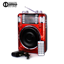 Outdoor Audio Megaphone Portable Power Voice Amplifier Mini Speaker USB TF Card Wireless Radio FM MP3