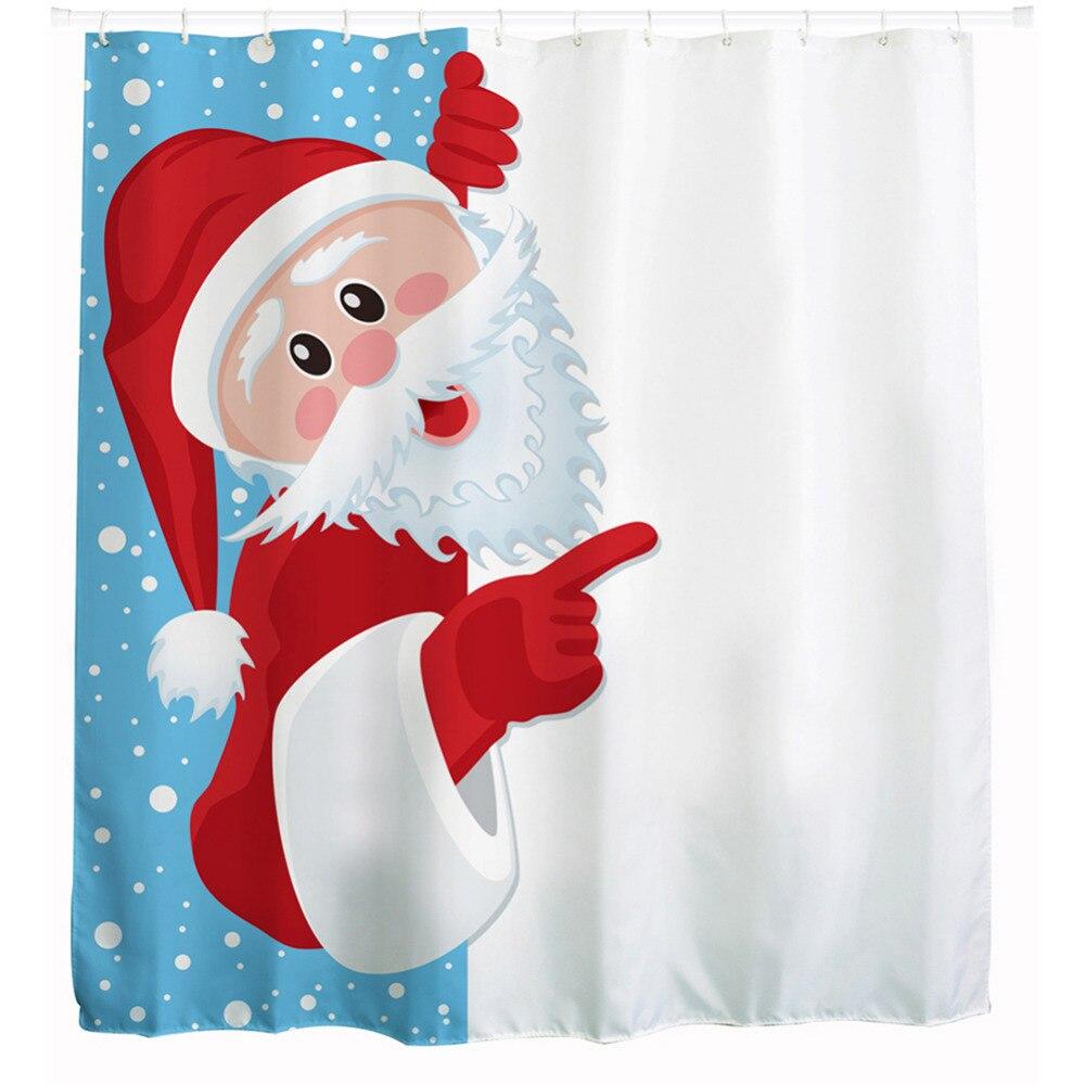 Neue Design Wasserdicht Weihnachten Frech Santa Polyester ...