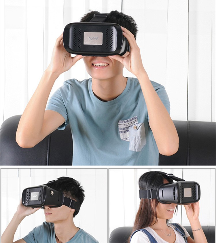2016 New VR Self-Model Polarized Google Oculus Rift Cardboard Virtual Reality DK2 Gear 3D Glasses for 4.0-6.0 inch Smartphone (20)