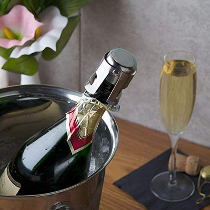 WALFOS 304 stainless steel champagne cork portable sealing machine bar stopper wine cork sparkling wine champagne cap 4
