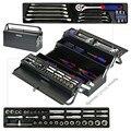 WORKPRO 183PC металлический ящик для инструментов набор инструментов для дома ремонтные Наборы инструментов Набор отверток Набор розеток