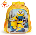 sale minions school bag for children,cartoon despicable me boys schoolbag,fashion bags for kids boys free shipping