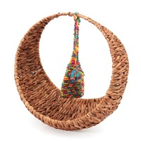 KiWarm New Handmade Woven Baskets Studio Photography Props For Newborn Baby Multifunction Basket Home Store Decor