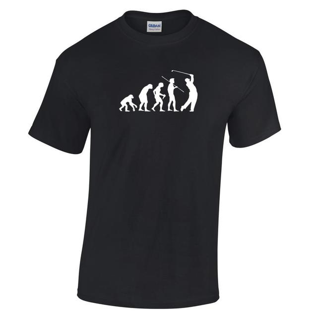 Evolution Of A Golfer Gift T Shirt