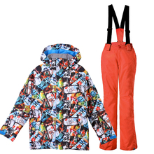 2018 GSOU SNOW winter ski suit kids snowboard jacket boys snowboard suit for children warm skiwear waterproof 2018 gsou snow women ski suit snowboard jacket pant winter clothing trouser super warm outdoor sport wear female suit hooded set