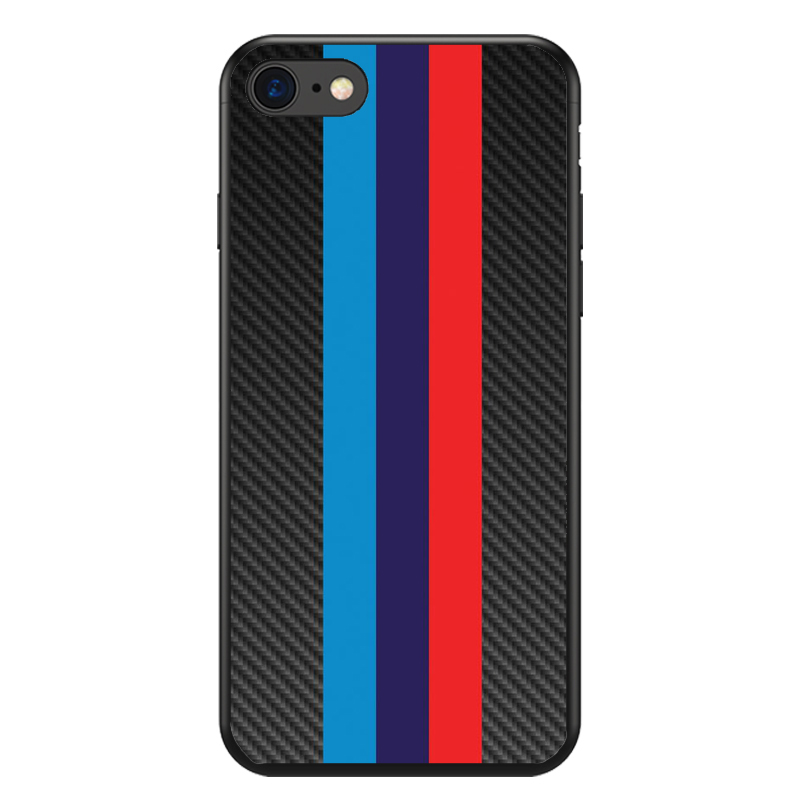 Luxury Car Bmw M logo Black Soft Silicone TPU Cool Best Cover Case For iPhone X 5S SE 6 6SPlus 7 7Plus 8 8Plus Bmw M Car