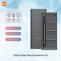 Original Xiaomi Mijia Wiha Daily Use Screwdrive Kit 24 Precision Magnetic Bits Screw Driver Set AL