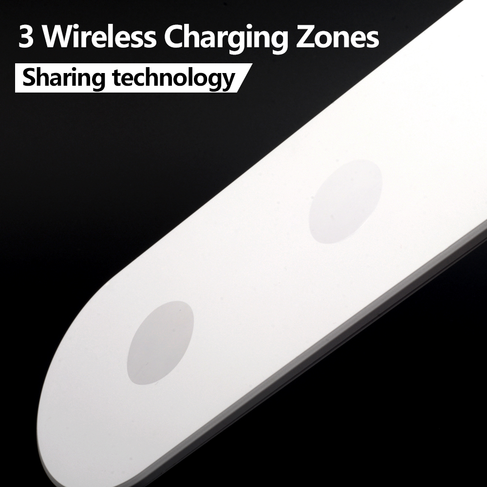 Veeaii Hot Sale Qi Wireless Charger 3 Coils Triple Zones Fast Aliexpresscom Buy Diy Circuit Board Pcba With Charging 9v1a Low Temperature Iphonex 8 Sharing Technology In Chargers From