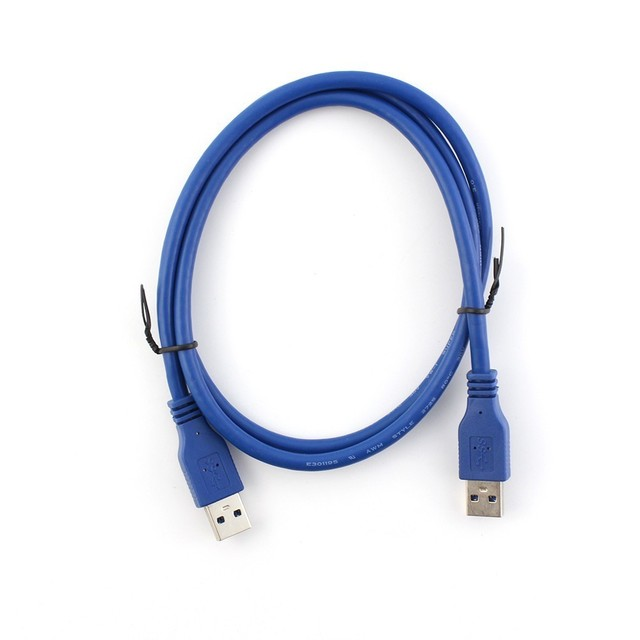 5pcs/lot super speed 3M USB3.0 cable A male to A male 3M/10ft length usb cable extension fastest shipping via EMS or DHL
