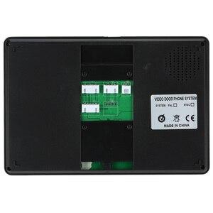 Image 3 - Видеодомофон KKMOON с ЖК дисплеем 7 дюймов, проводной, 700TVL