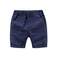 2018 kids stripe shorts boys pants children summer short baby boy clothes korte broek jongens