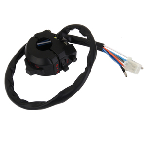 "Image 2 - 1 Pcs Aluminum Waterproof Motorcycle Handlebar Control Switch For Emergency Light Turn Signal Light Switch Fit 7/8"" Handlebars"