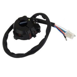 """Image 2 - 1 Uds impermeable de aluminio de la motocicleta interruptor control manillar para luz de emergencia Luz de señal de giro compatible con el interruptor 7/8 """"manillar"""