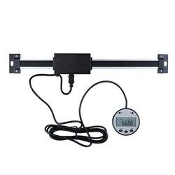 LCD cyfrowy odczyt liniowy linijka krawiecka rozmiar pionowy opcjonalnie 0.01mm magnetyczny zdalny wyświetlacz zewnętrzny linijka obrabiarki