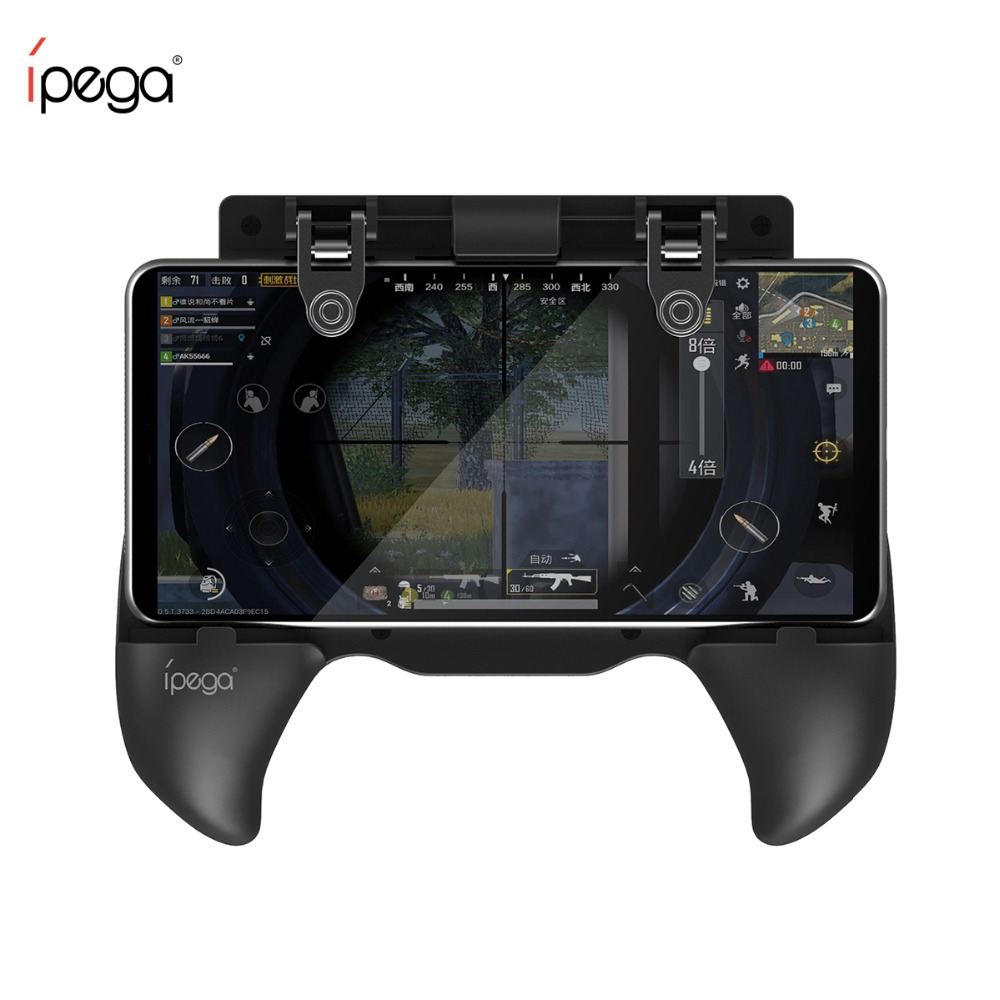 iPega 9117 Pubg Mobile Pubg Controller for FPS Phone Game Pubg Gamepad Grip L1RL Pubg Trigger Button Fire Key for iPhone Android