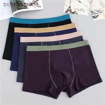 Plus Size Male Underwear 4 Pcs/lot Men Underwear Boxers Shorts Cotton Cuecas Boxer Men Solid Underpants Man Boxer Large XL-9XL - Category 🛒 Underwear & Sleepwears