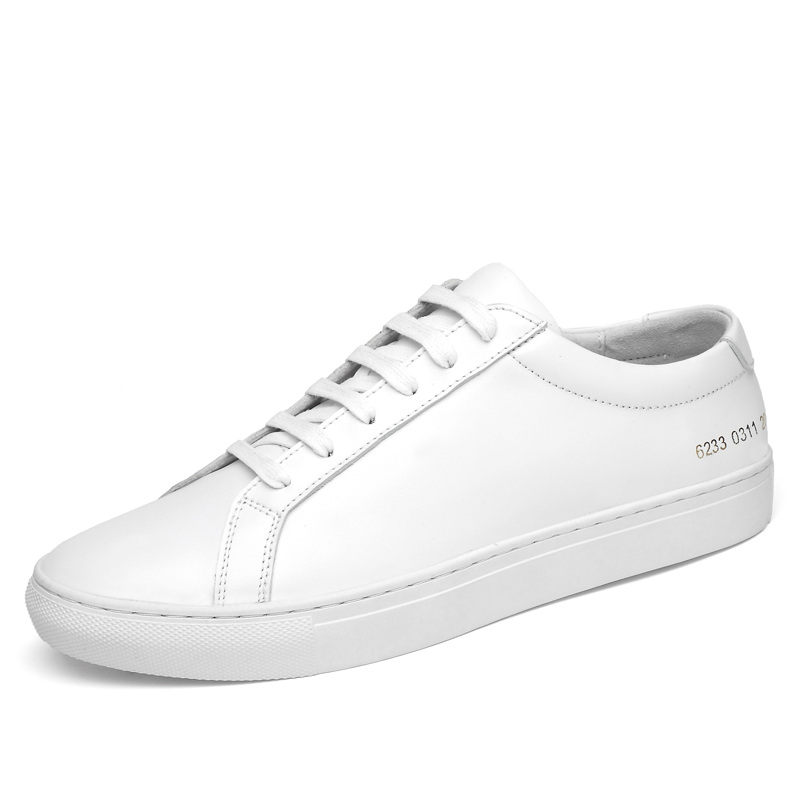 Mens Chaussures Casual Simple Commune Projets Haute Qualité Véritable Chaussures En Cuir pour Les Couples Classique Vieux Skool Zapatos De Hombre