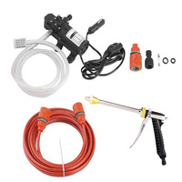 High Pressure Adjustable Flow Auto Use Car Washer Kit Gardening Vehicle Mounted Water Pump Portable Electric Durable Lengthen