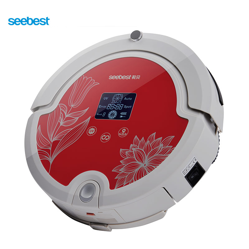 Seebest WALL-E 2.0 C571 Robot Vacuum Cleaner with Rolling Brush, Intelligent Vacuum Cleaner LCD Screen, Russia Warehouse russia warehouse seebest d720 momo 1 0 intelligent robot vacuum cleaner with big dry mopping time schedule auto recharge