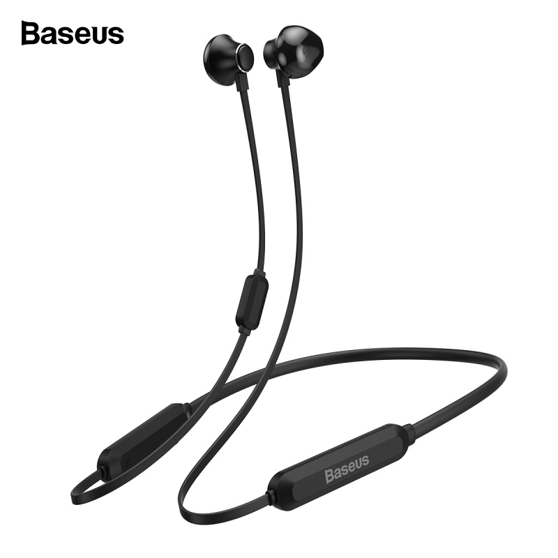 Baseus S11A Bluetooth Earphone Headphone Wireless Headset Neckband Sport Earbuds auriculares For iPhone Xiaomi Samsung With Mic