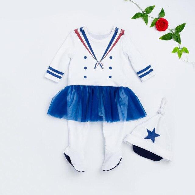 372d6ce4ce45 Fashion Autumn style Christmas Newborn White baby romper suit kids ...