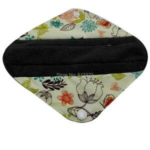 Image 4 - 100 PCS/LOT Bambus Tuch Panty Liner Wiederverwendbare Sanitär Pad