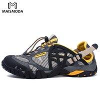 MAISMODA 2018 Summer Sandals Aqua Shoes for Men Women Quick drying Water Walking Upstream Shoes for Swimming Beach Anti slipper