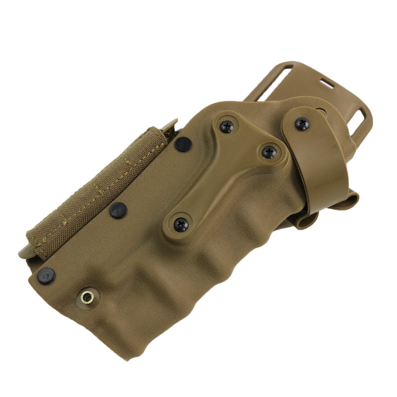Chasse Accessoires d'armes À Feu Airsoft Extérieure Ceinture Tactique Gun Holster pour GL 17 19/M9/Hk USP