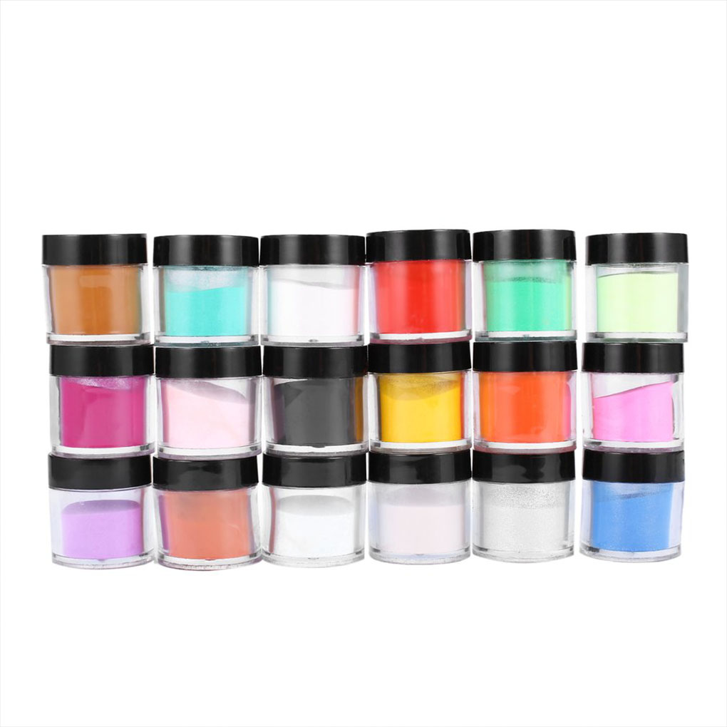 18 Colors Women Acrylic UV Polish Kit Girls Decorate