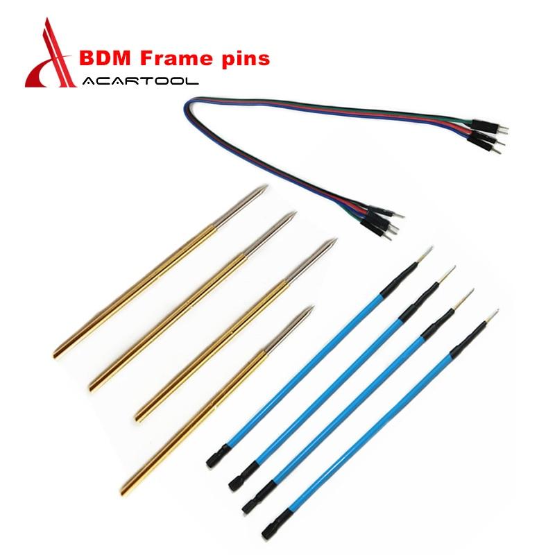 4pcs LED BDM Frame Probe Pens Frame Pins Chip Tuning Tool EUC Programmer KESS KTAG FGTECH Automotive EUC Programming Tool