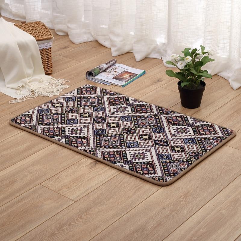8 Designs Anti Slip Kitchen Floor Mat Carpet Entrance Doormat Area Rugs Hallway Corridor Mat