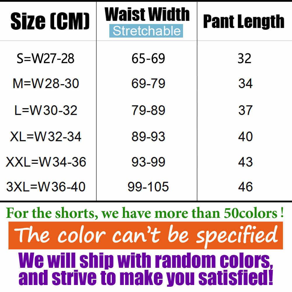 남성 비치 캐주얼 반바지 격자 무늬 땀 압축 남성 드레스화물 바지 반바지 패션 위장 Boardshorts 브랜드 의류