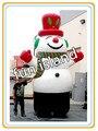 Бесплатная доставка складе гигантский надувной снеговик, наружная реклама надувные новогодние украшения