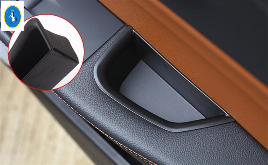 Yimaautotrims Front Inside Car Door Storage Pallet Armrest Container Box Cover Trim For Alfa Romeo Giulia 2016 2019 Plastic in Interior Mouldings from Automobiles Motorcycles