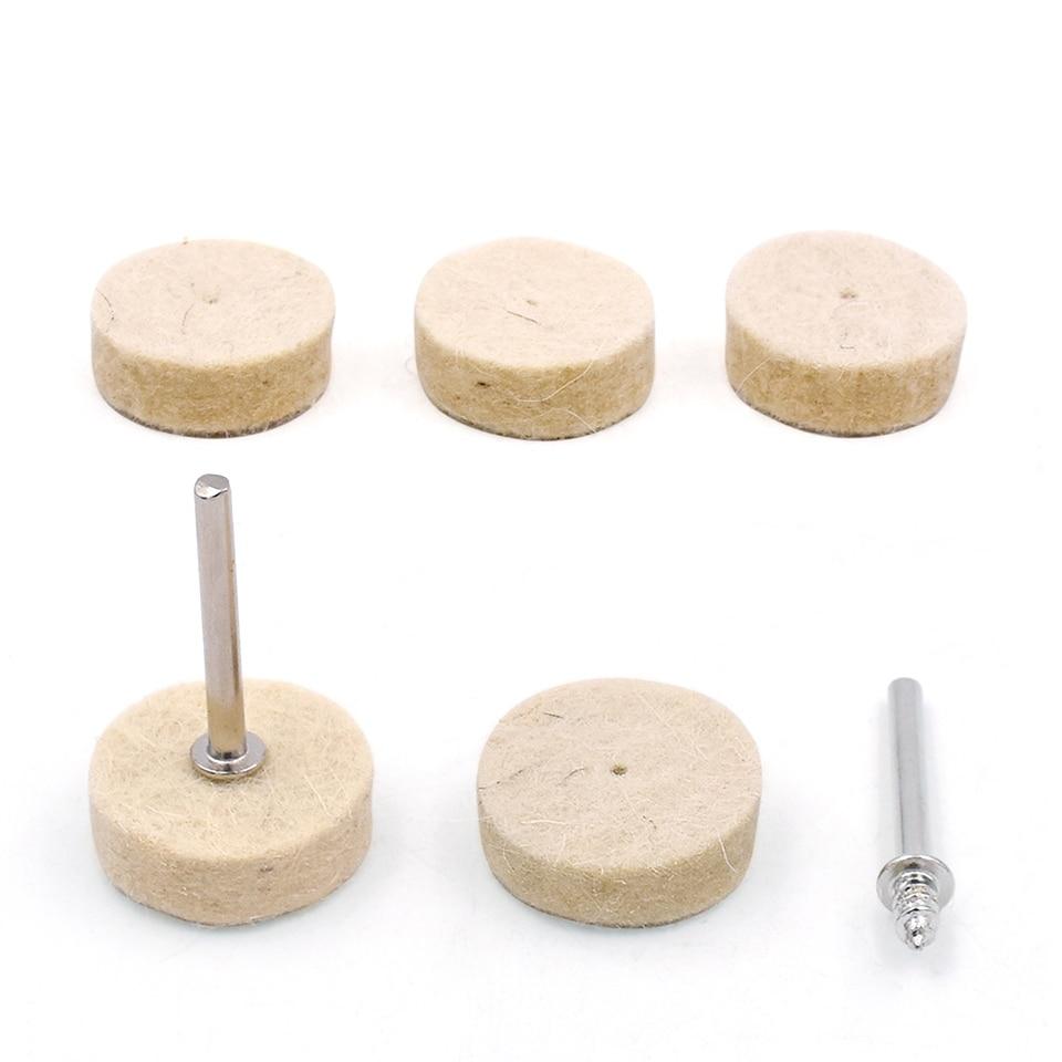 100 piezas herramientas abrasivas rotativas rueda de pulido de - Herramientas abrasivas - foto 5