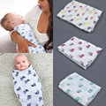 Baby Blanket Aden Anais Thicken Single Layer Cotton Infant Swaddle Bebe Envelope Stroller Wrap for Newborns Baby Bedding Blanket