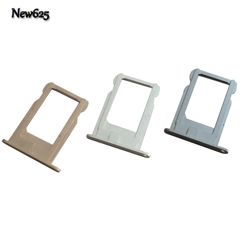 2 Pcs/Lot, SIM Card Holder Tray Slot For iPhone 5 Replacement Adapter SIM Card Tray Holder Socket