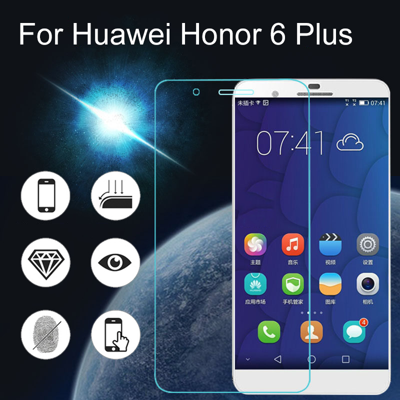2.5D 9H Tempered Glass For Huawei Ascend P8 lite Y6 Y600 Y3C Screen Protector for Honor 9 3C 3X 6 7 6 7plus Protective Film