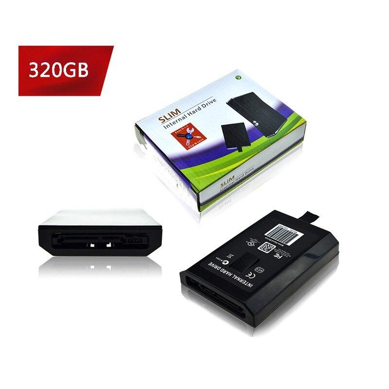 20 GB/60/120/250 GB/320 GB/500 GB HDD Disk Hard Drive Per xbox 360 Slim/360 Xbox 360E Console Per Microsoft XBOX360 Slim Juegos Consola