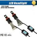 2Pcs High Quality COB LED Headlight H8 H9 H11 Auto LED Headlight Bulb H8 Head Lamp 3400LM White Colour 6000K LED Headlight Lamp