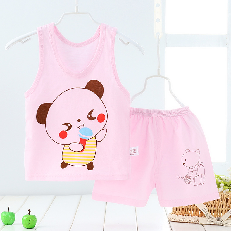 URFine-Girls-Boy-Clothes-Cartoon-Cat-T-Shirt-Short-ChildrenS-Suits-Clothing-Set-Girls-Set-Girls-Suit-ChildrenS-Clothing-2