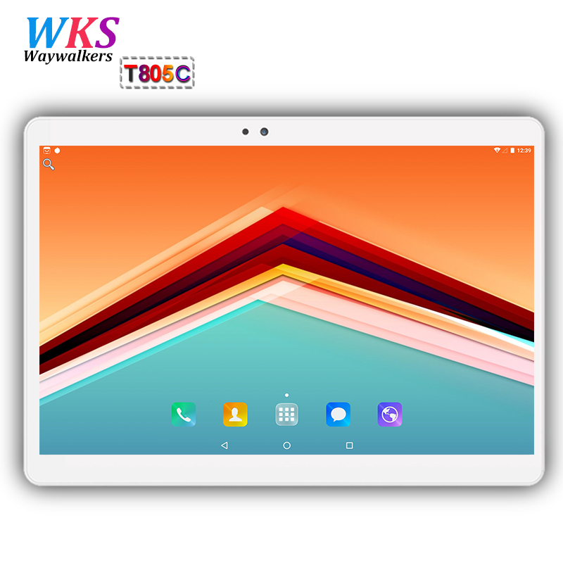 10.1 inch 3G/4G LTE tablet pc Android 7.0 Octa Core 4GB+64GB 1920*1200 IPS Dual SIM Blue ...