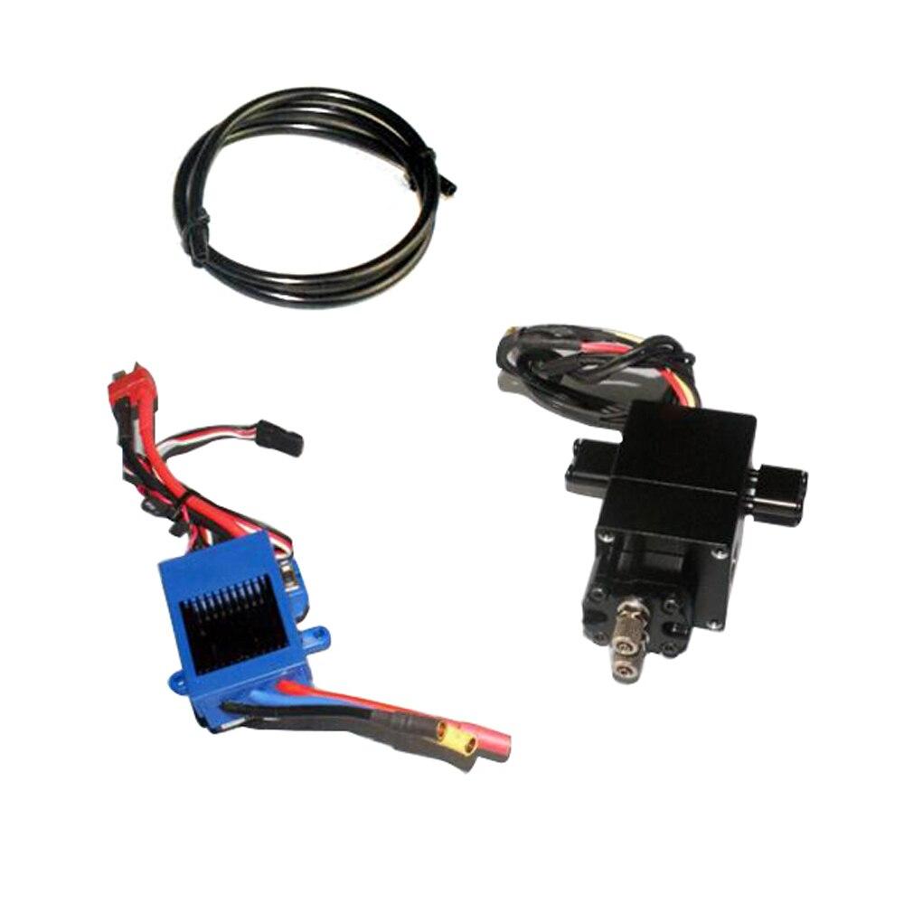 Hydraulic Pump Set Brushless ESC for 1/14 TAMIYA Dump RC Truck DIY Model Car Parts Aluminium Alloy Hydraulic Pump Set