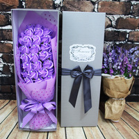 With Diamond Rose Soap bear bouquet birthday Valentine bestie girl cartoon bouquet